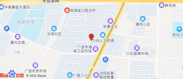 慎德小区小区地图