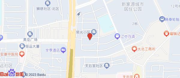 荣光小区小区地图