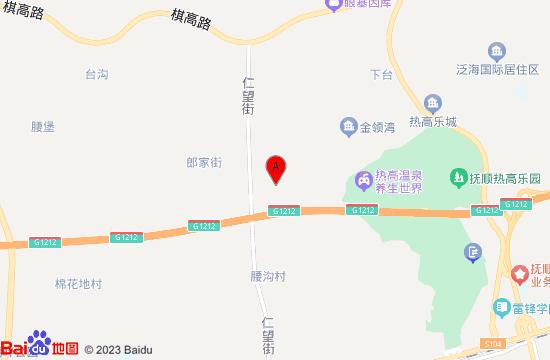 沈阳甜果驿站农乐园地图