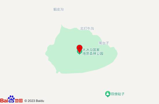 本溪大冰沟地图
