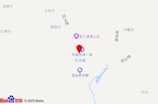 东汤乾汤沐谷温泉地图