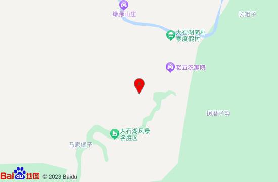 本溪大石湖地图