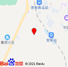 丹东辽东旅社(宽甸县)位置图