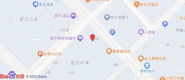 壹品新境小区地图