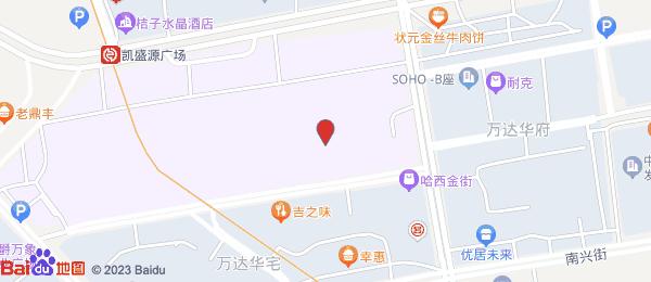 万达华府小区地图
