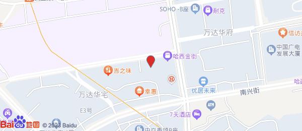 万达华宅小区地图