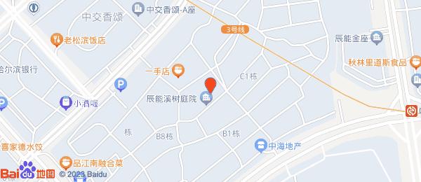 辰能溪树庭院小区地图