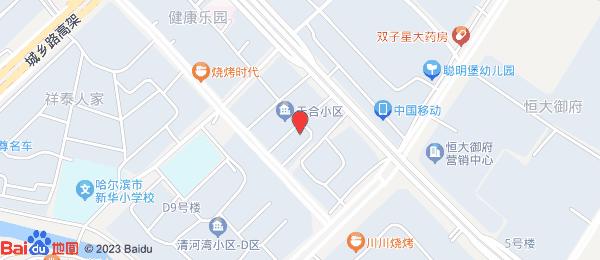 清河湾小区地图
