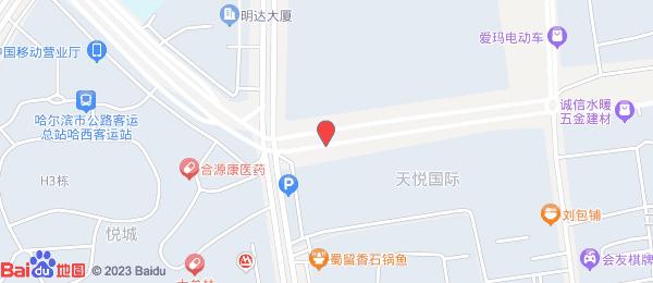 天悦国际小区地图