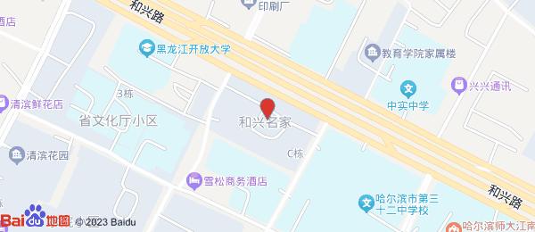 和兴名家小区地图