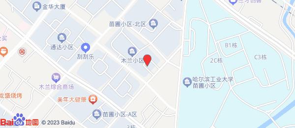 木兰小区小区地图