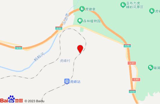 亚布力虎峰岭簸箕崴子景区地图