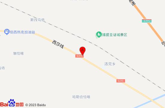 叶城锡提亚迷城地图
