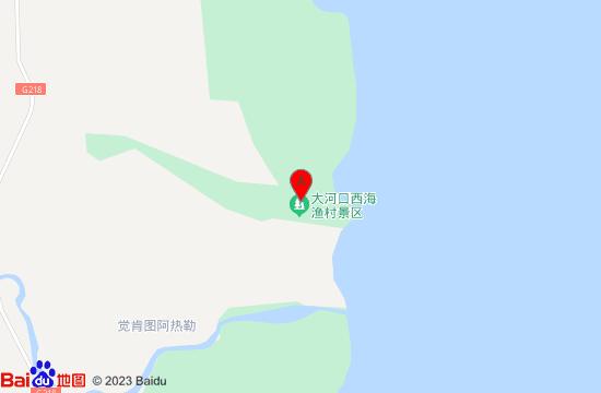 博斯腾湖大河口西海渔村地图