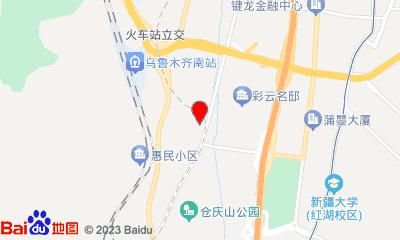 103电影公园周边地图