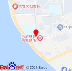 林芝二加二家庭别墅连锁酒店(尚城店)位置图