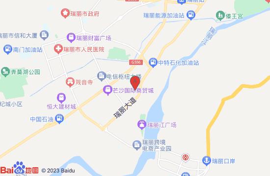 瑞丽鸿河谷水上乐园地图