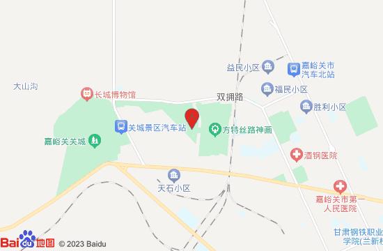 嘉峪关方特丝路神画地图