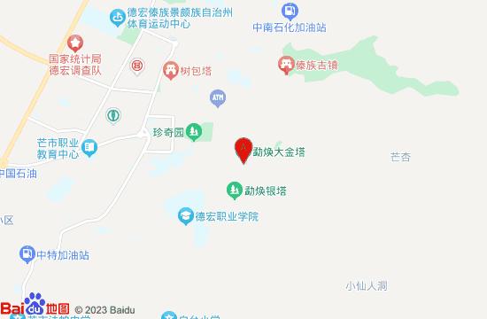 勐焕大金塔地图