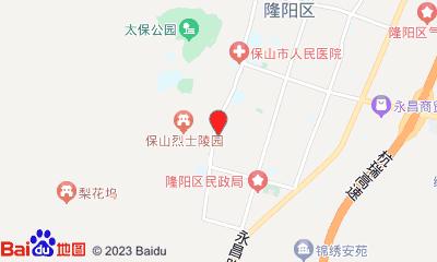 保山马里影城周边地图