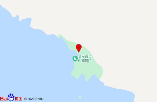 茶卡天空壹号景区地图