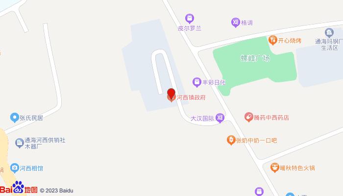 河西文庙地图