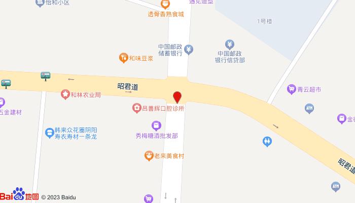 生态百亭园,和林南山公园地图