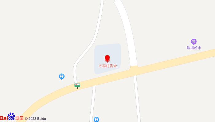 大窑文化遗址地图