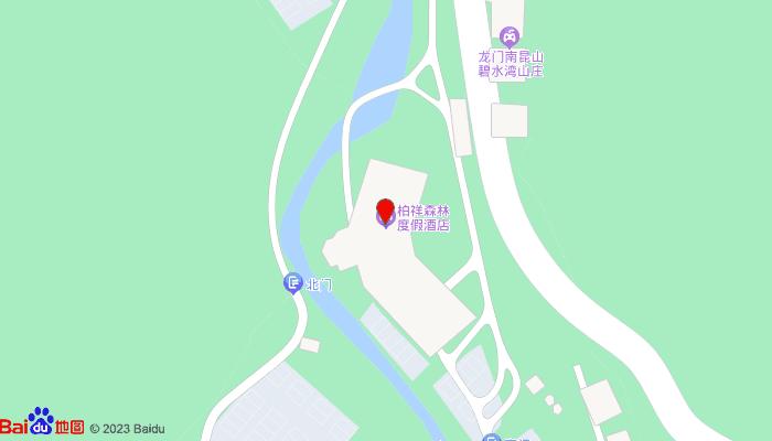 柏祥森林度假酒店地图