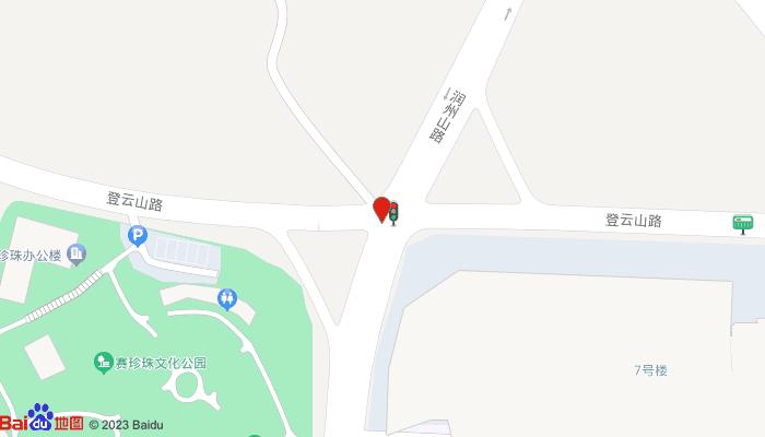 赛珍珠故居地图