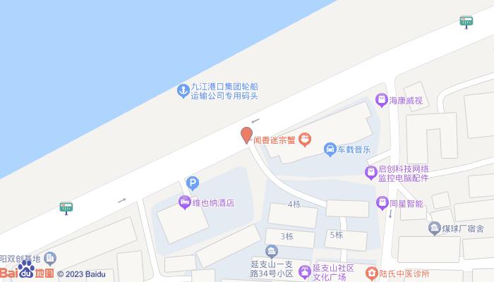 锁江楼塔地图