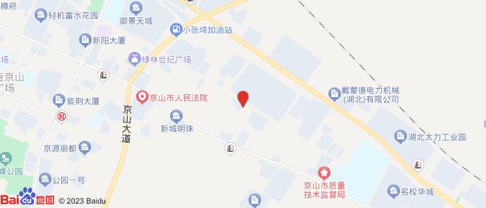 京山飞机场在那里修建