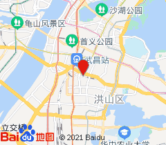 武汉亢龙太子酒店地图