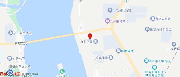 山东临沂河东飞机场附近