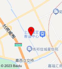 嘉定镇地图