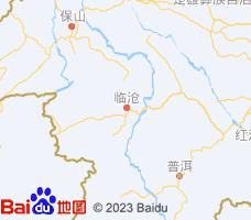 临沧电子地图