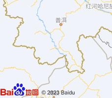 西双版纳电子地图