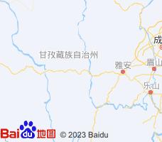 甘孜电子地图
