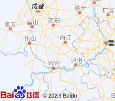 自贡电子地图