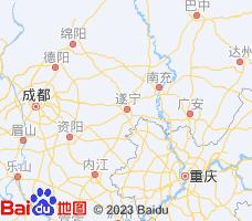遂宁电子地图