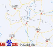广元电子地图