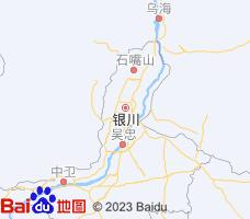 银川电子地图