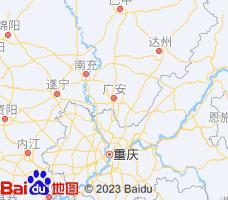 广安电子地图