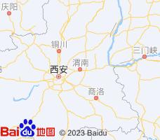 渭南电子地图
