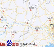 梧州电子地图