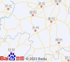 永州电子地图
