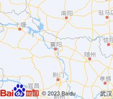 襄阳电子地图