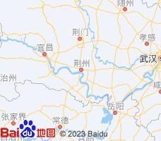 荆州电子地图
