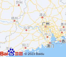 肇庆电子地图