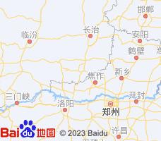晋城电子地图